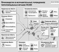 Производство в учреждениях ФСИН